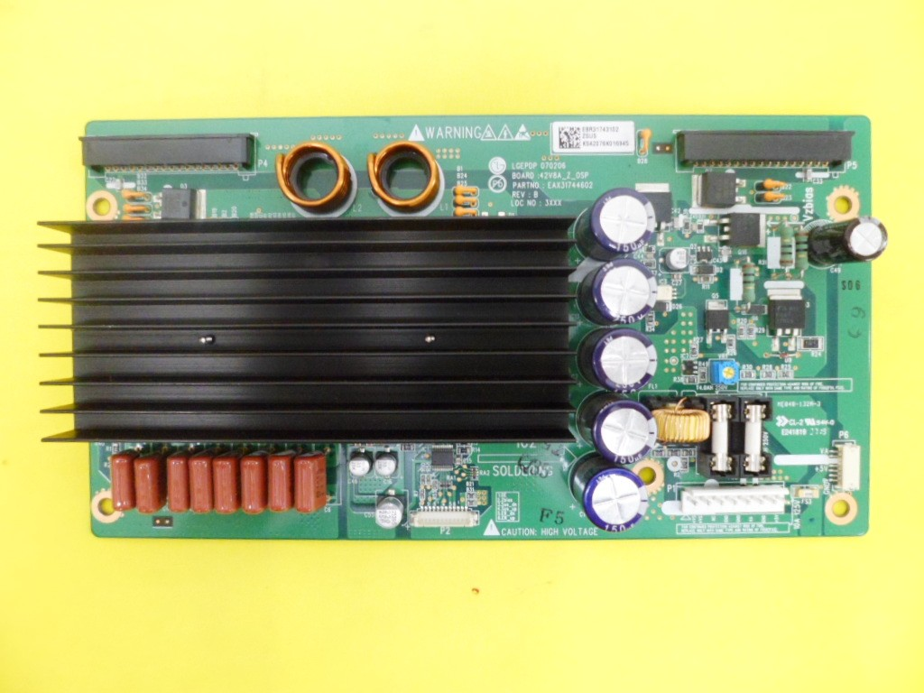 PLACA ZSUS PLASMA LG 42PC5RV EBR31743102  EAX31744602