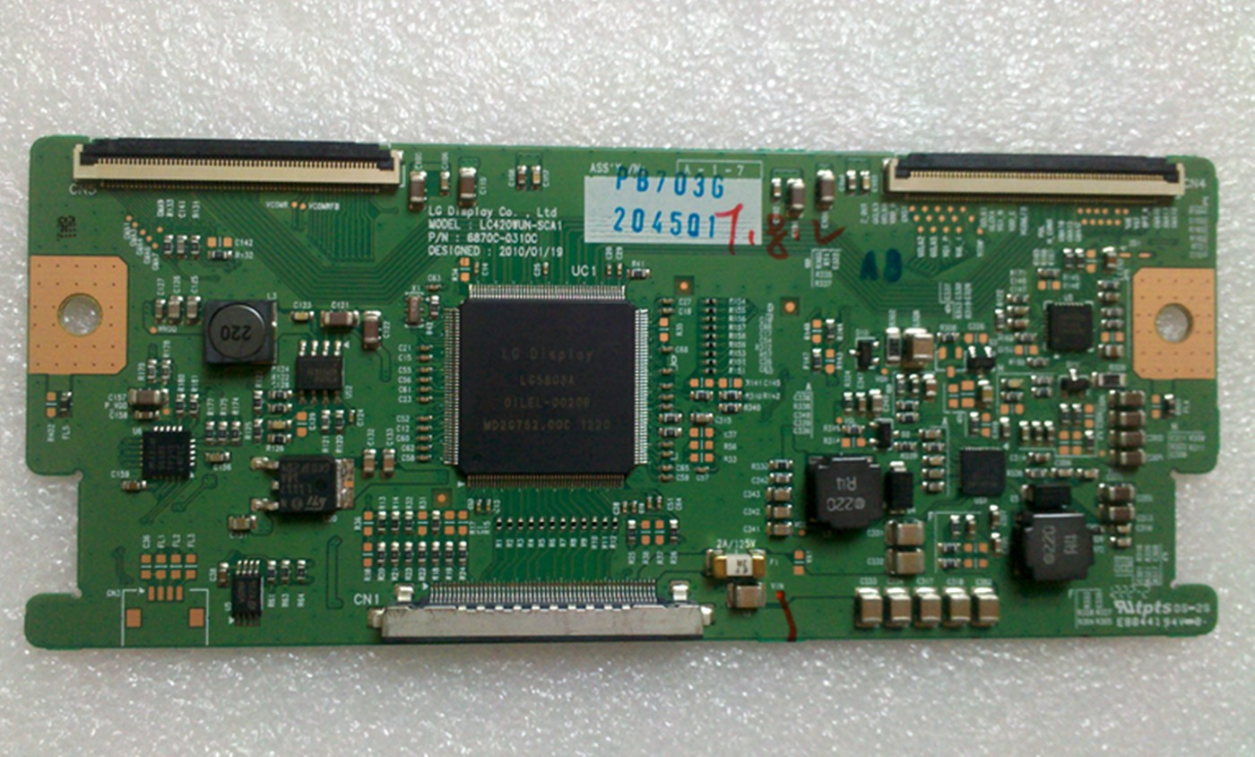 T-CON 6870C-0310C ( LC420WUE-ABCA2 ) LG 42LD460 42LK450 42CS460 PHILCO PH42M EAT61773301 PLACA NOVA