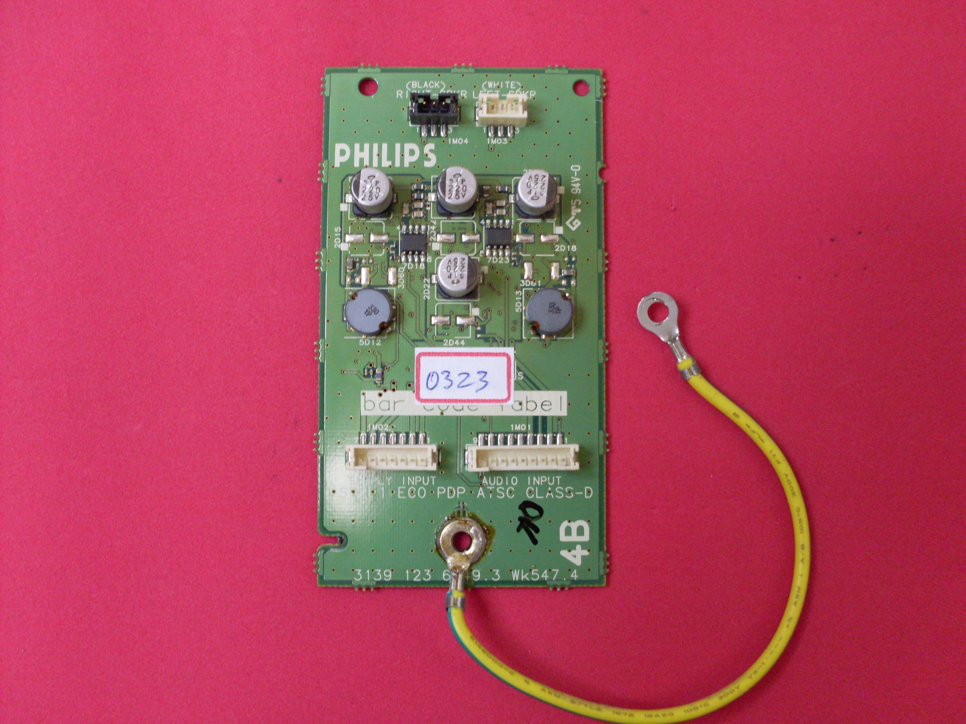 PLACA DE AUDIO 3139 123 6149.3 PLASMA PHILIPS 42PF7321