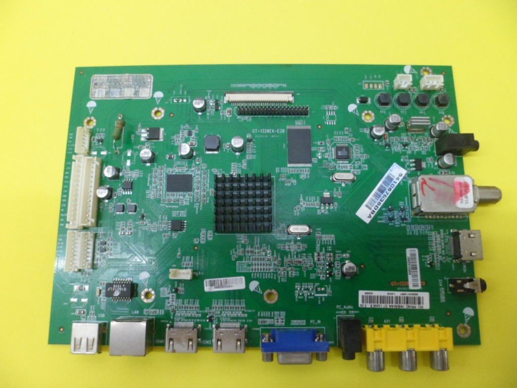 PLACA PRINCIPAL MAIN SINAL TV LED 39 LN39G GT-1326EX-E39 CCE SEMI-NOVA