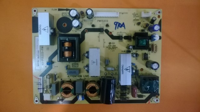PLACA FONTE PHILCO TV PH32E PH32M4 LCD PW152C0 40-P152C0-PWG1XG CCP-508 SEMI-NOVA